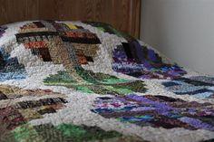 Full Size Handmade Quilt - www.etsy.com/shop/SnowDogQuiltWoodwork