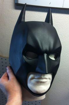 Dark Knight Rises cowl by www.reevzfx.com