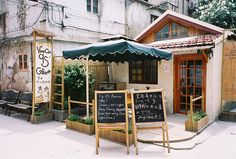 chinese coffeehouse