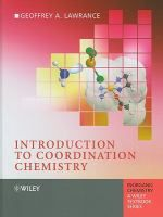 """Introduction to coordination chemistry"" QD474 .L387 2010"