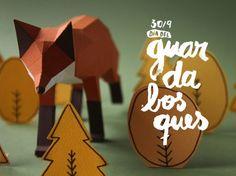 Papercraft Animals / Guardabosques | AA13 – blog – Inspiration – Design – Architecture – Photographie – Art