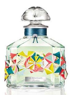 Les 4 Saisons 2016 de Guerlain - Le Printemps (flacon cristal de Baccarat)