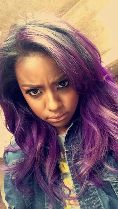 Justine Skye when she sad tho lol Weave Hairstyles, Pretty Hairstyles, Manado, Lace Closure, Natural Hair Styles, Short Hair Styles, Extensions, Hair Laid, Hair Shows