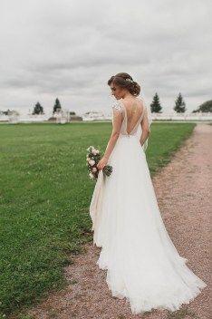Chic wedding dress пышное свадебная платье