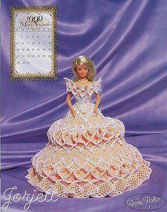 November, Annie's 1999 Bridal Dreams Collection crochet patterns