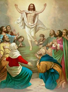 Jesus Christ and Christian Pictures: The Resurrection and Ascension of Jesus Christ Picture and Paintings Gallery
