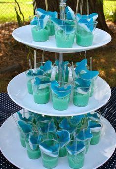 Tiburones . Estás buscando una decoración de fiestas de cumpleaños de Tiburones , aquí en el blog Fiestas y todo Eventos, te traigo varias i...