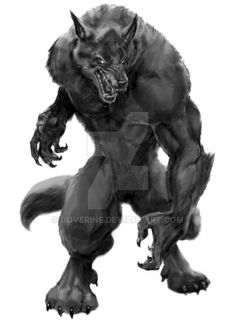 *****UPDATE******* get this werewolf art on some cool merchandise here on my zazzle store!****EVEN NEWER--now available on yo. werewolf on zazzle artsprojekt Mythological Creatures, Fantasy Creatures, Mythical Creatures, Arte Furry, Furry Art, Van Helsing Werewolf, Animal Sculptures, Lion Sculpture, Arte Equina