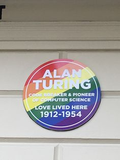 Alan Turing - Warrington Crescent, London, W9  --- see old #Turing plaque #Pride