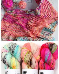 Plumpy shawl by Hedgehog Fibres Hedgehog Fibres, Shawls And Wraps, Weekend Is Over, Glitch, Color Combos, Artisan, Knitting, How To Make, Crafts