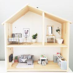 Uberlegen IKEA Flisat Modern Dolls House Renovation In 1:12 Scale, Modern Miniatures,  Dolls