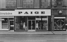 Historypin | Tours | Aberdeen - Union Street shop fronts