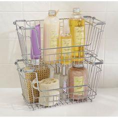 Simplify Stackable Extra Large Storage Basket & Reviews | Wayfair