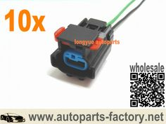 longyue 10set 2 Wire Alternator Connector Pigtail FITS