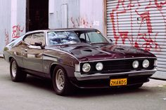 1973 Ford Falcon - it's a damn shame these weren't sold in America