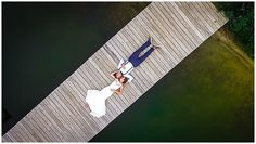 Drone Wedding Photography | Harrisburg, PA | Landon Wise Photographer
