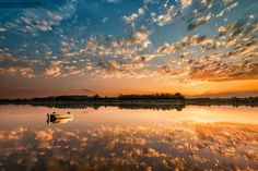 Tranquility  Idill Celestial, Mountains, Sunset, Nature, Fantastic Art, Pictures, Travel, Outdoor, Beauty