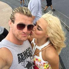 Dolph and Lana at Disney World