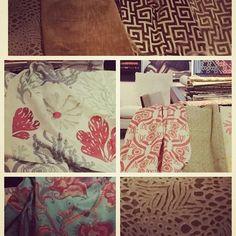"@tkh_cali's photo: ""Gorgeous new collection @TraversFabrics presented by @erinfinn #traversfabrics #zimmerrohde @raynorrisdesign #spring2015 #hinescompany #wdcgrandopening"""