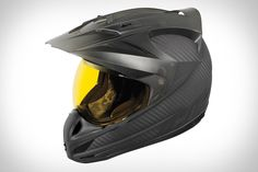 If you've bought into the craze of adventure touring on a motorcycle, you likely already know the importance of having great gear — keeping you comfortable while also guaranteeing your safety. The Icon Variant Ghost Carbon Helmet features incredible advancements...