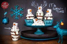 Wir zeigen euch süße Kuchen-Ideen im Winter-Weihnachts-Look. Vom Schneegestöber-Kuchen bis zum Schneemann-Dessert ist für jeden was dabei.