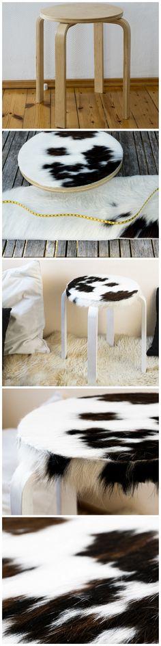 Der Herbst ist eingezogen Mit diesem auch die Idee für meinen - Kuhfell Teppich Wohnzimmer