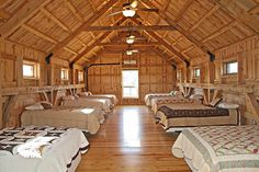Barn Home Great Plains Western Horse Barn Home project by Sand Creek Post & Beam. View this gallery for ideas on your next dream barn. Cabin Homes, Log Homes, Rustic Barn Homes, Bunk Rooms, Bedrooms, Cabin Interiors, Cabins In The Woods, Architecture, Future House
