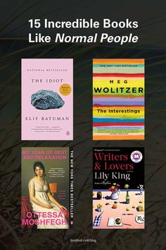 This reading list is full of books like 'Normal People' to add to your reading list.  #books #normalpeople #reading