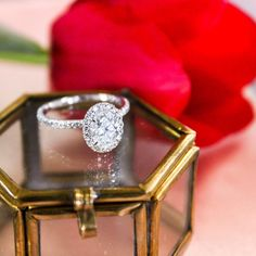 Wishing you a Valentine's Day full of sweet surprises. #BrilliantEarth #ValentinesDay #shesaidyes #engagementring #love
