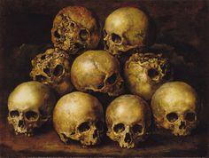Human Skulls (c.1660s) - Gottfried Libalt