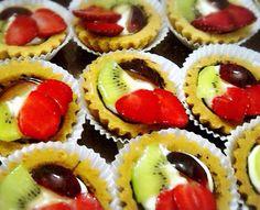 Mini Fruit Tarts Rp. 6000/each Min. Order 20pcs Pre-order 1 day