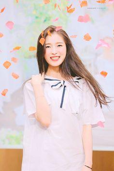 Arin Oh My Girl, Gfriend Sowon, Red Velvet Seulgi, Who Runs The World, Good Music, Ulzzang, Girl Group, Cold Shoulder Dress, Ruffle Blouse