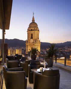 Hotel Deal Checker - AC Hotel Malaga Palacio by Marriott Ac Hotel, Hotel Pool, Best Hotel Deals, Best Hotels, Malaga City, Terrace Hotel, Premium Hotel, Holiday Hotel, Sunsets