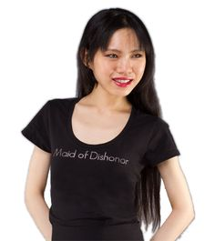 Happily Ever Over - Maid of Dishonor™ - Divorce Party Shirt, $27.95 (http://www.happilyeverover.com/maid-of-dishonor-divorce-party-shirt/)