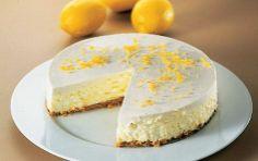 ...hjemmelavet citron cheesecake med vanille og creme fraiche-låg <3