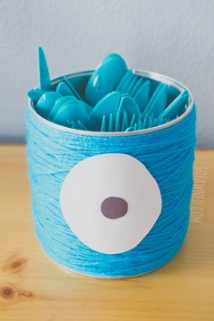Monster Mash Party DIY: Utensil Holder