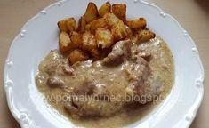 Pomalý hrnec Korn, Slow Cooker, Food And Drink, Chicken, Meat, Blog, Blogging, Crock Pot, Cubs