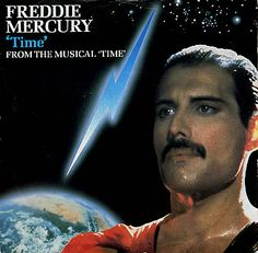 """For Sale -Freddie Mercury Time - P/S UK 7"""" vinyl single (7 inch record)- See this and 250,000 other rare and vintage records & CDs at http://eil.com/"""