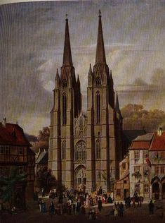 Elisabethkirche! I went by this almost everyday, I remember it like it was yesterday!