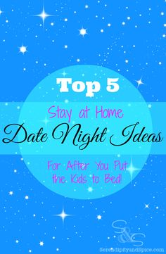 Here are my top 5 stay at home date night ideas....perfect for after you've put the little ones to bed! #GelatoLove #ad