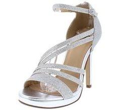 4f1fa7e166f AMORET SILVER SPARKLE CHROME STRAPPY HEEL - Wholesale Fashion Shoes  Wholesale Fashion Shoes