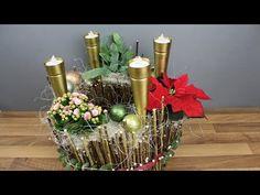 Adventskranz - Adventsgesteck - Weihnachtsdekoration selber machen