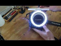▶ DIY DSLR LED Ring - YouTube