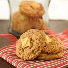 Chewy Peanut Butter Cereal Cookies | Unilever: Making Life Better