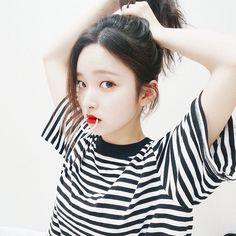 Image via We Heart It #girl #korea #女の子 #얼짱 #オルチャン #おるちゃん #キムナヒ