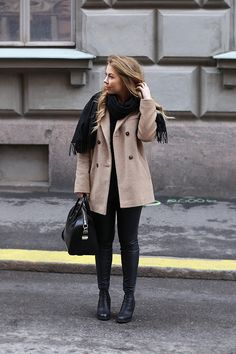 classic camel and black