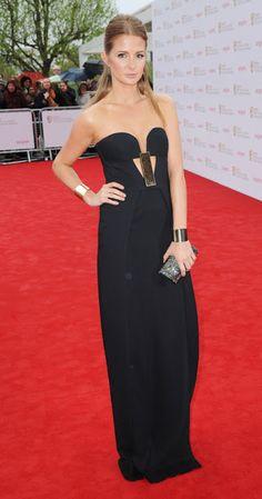 #Bafta2013 Millie Mackintosh con palabra de honor de Sass & Bide