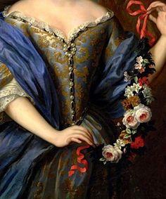 portrait 1662   Portrait of Anne Henriette de Bavière while the Princess of Condé ...