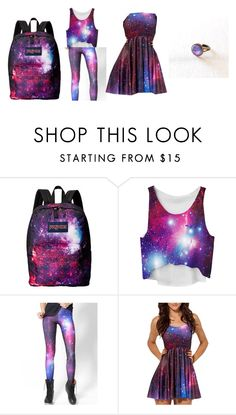 """""""Galaxy"""" by arroyoangela ❤ liked on Polyvore featuring beauty and JanSport"""