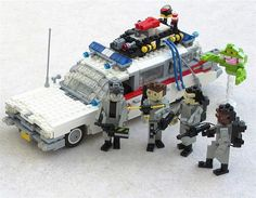 Cool Ghostbusters Lego Car